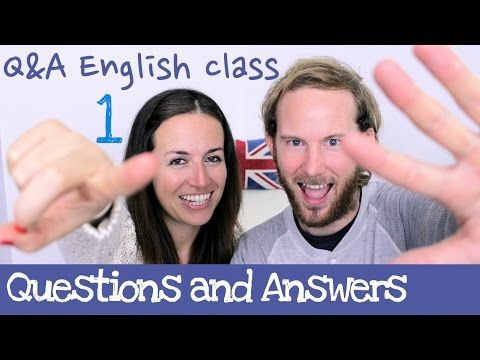 Q&A English class - Aprende inglés cotidiano 1