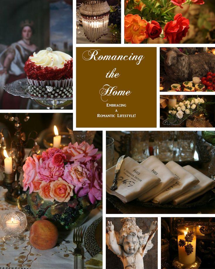 Romancing the Home: Favorite Blog, Decor Ideas, Romances, Christmas, Beautiful Books, Beautiful Blog, Beautiful Rose, Romantic Home Decor, Red Velvet Cakes