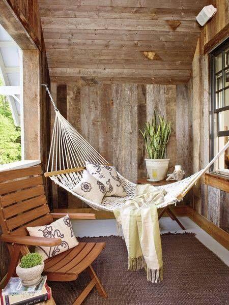 Vordächer, Außenräume, Landleben, Terrassen, Ideen Para, Hängen Hängematten,  Gehäuse, Partei, Strand