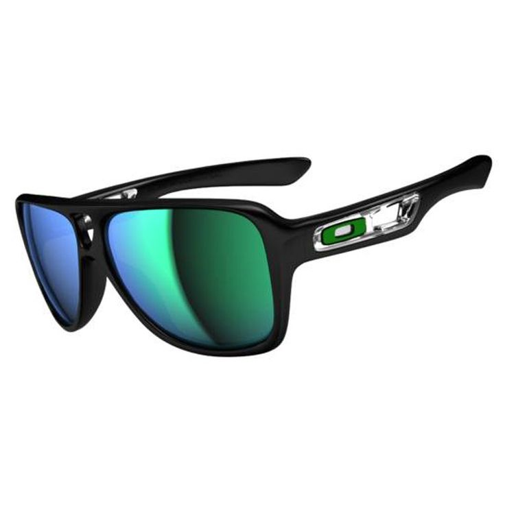 Oakley Sunglass Styles  oakley mens sunglasses dispatchii polished black jade iridium at hansen's surf shop