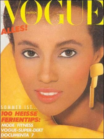 FAMOUS AFRICAN MODELS: Somali Supermodel IMAN BOWIE - Biography, Photos