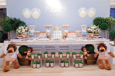 Baby Guide Festa Infantil: Festa Leãozinho para Meninos por Happy Happenings