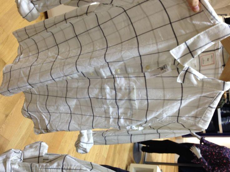 Gap plaid shirt now available at #Stuttafords