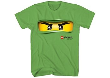 LEGO Ninjago T-Shirt features ninja graphics for cool appeal. With short sleeves, crewneck