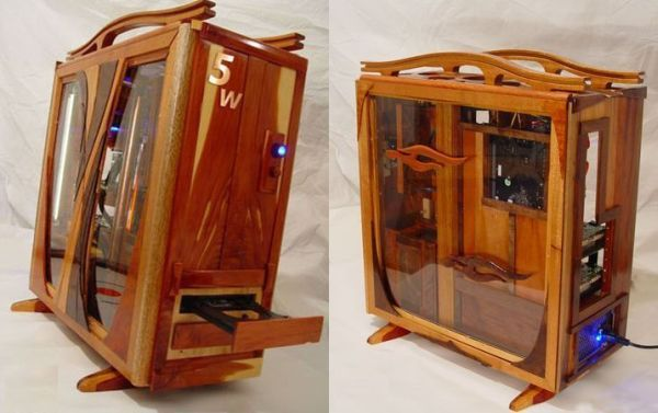 how to build your own wooden pc case