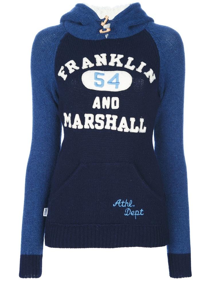 FRANKLIN & MARSHALL - Hooded Sweatshirt
