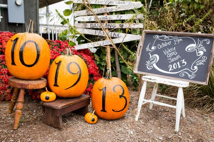 Halloween is right around the corner! Use the pumpkin craze of October to your advantage and show off your date in a unique way!