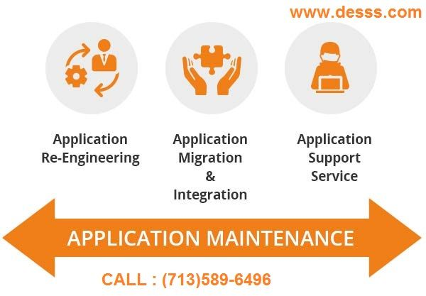 Application Maintenance Services  #DESSS is an excellent #Application #Maintenance #Service Company in #Houston #Texas improve the #efficiency of the #application and minimize #downtime.We have a proven track record as a #Web #Maintenance Company that offers #robust and #cost effective maintenance solutions to many successful #business #enterprises.  To hire our #Services, ping at #Houston (713)589-6496, #Texas.  Visit: http://www.desss.com.  #Application_Maintenance_Houston