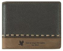 Buy Mens Genuine Leather Wallet: On Wings Like Eagles Online - Mens Genuine Leather Wallet: On Wings Like Eagles Soft Goods: ID 6006937102699