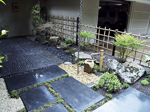 how to create a japanese garden in a small courtyard
