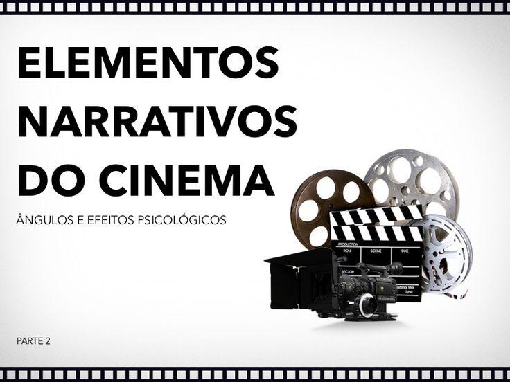 Elementos narrativos do cinema. Conceitos básicos. Ângulos e efeitos psicológicos Definição de CENA