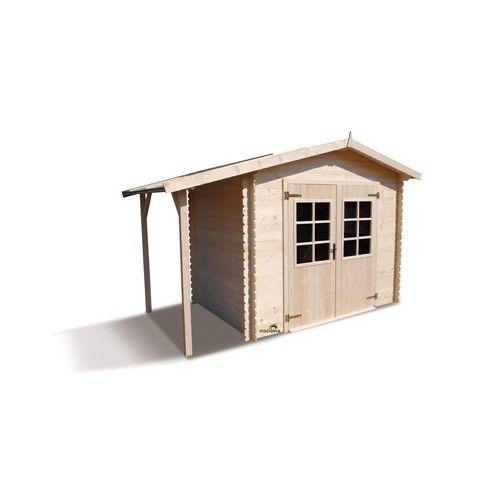 17 images about abri et chalet de jardin en bois on pinterest simple coeur d 39 alene and bureaus. Black Bedroom Furniture Sets. Home Design Ideas