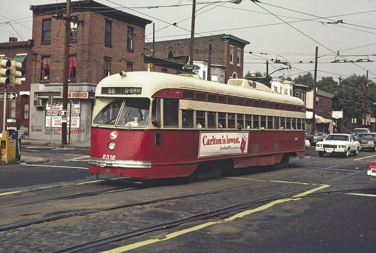 Septa S Trolley Route 56 The Erie And Torresdale Avenues
