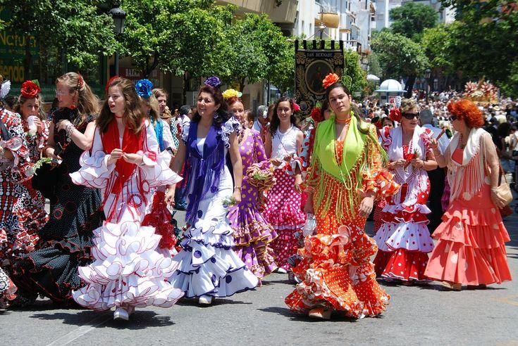 Feria de Málaga en agosto 2017