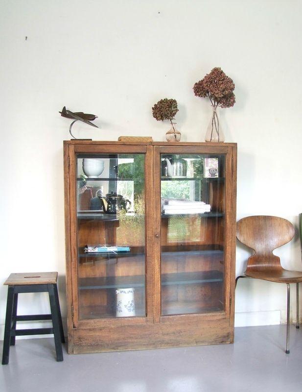 Meuble Ancien Vitre Meuble Vintage Mobilier De Salon Meuble Vitre