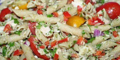 Pastasalat med tun/ Макароны с тунцом