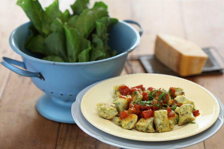 Spinach and Ricotta Gnocchi with Tomato and Chilli Sugo - Maggie Beer