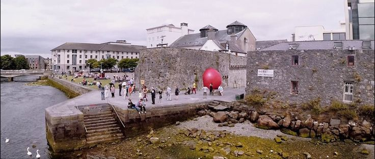 RedBall Galway, Spanish Arch, Documented by Filmmaker Danny Cooke. #redballproject