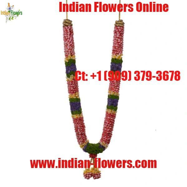 Indian Flowers Online Usa Flowers Online Indian Flowers Indian Wedding Garland