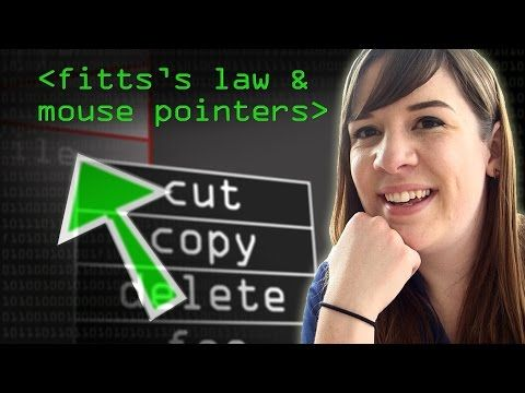 Mouse Pointers & Fitts's Law - Computerphile - YouTube