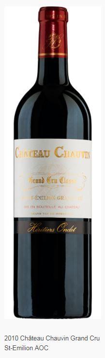 2010 Château Chauvin Grand Cru St-Emilion AOC  Mövenpick Wein