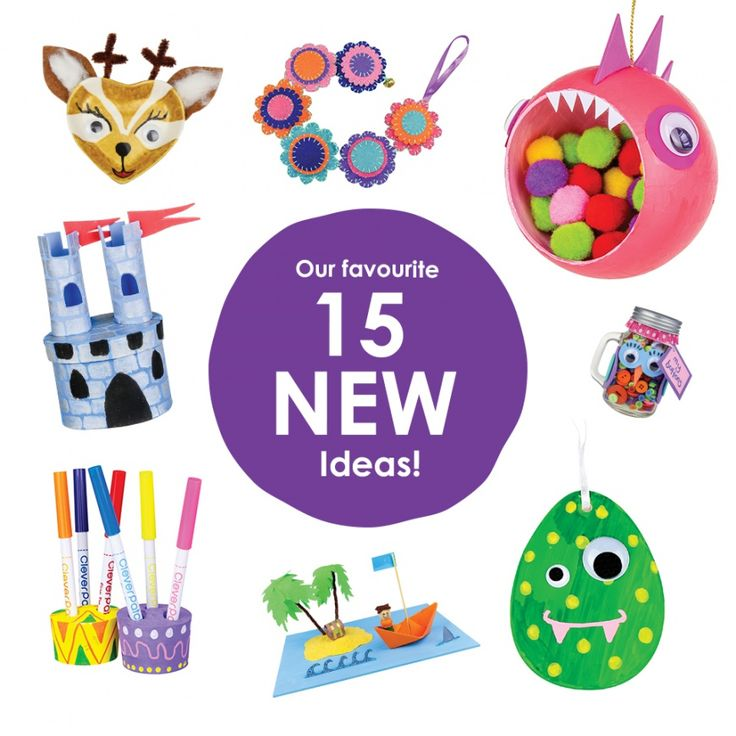 15 Fun Craft ideas for kids!