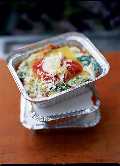 sweet leek, ricotta & tomato lasagne | Jamie Oliver | Food | Jamie Oliver (UK)