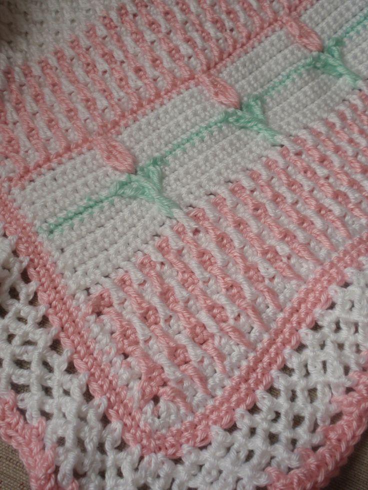 Crochet Baby Afghan https://www.facebook.com/CrochetByGina