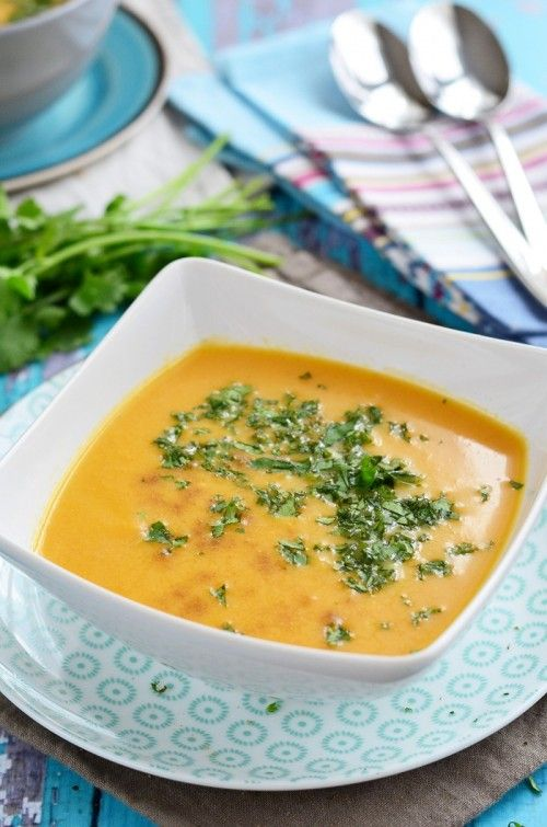 Korianderes sárgarépa-krémleves recept