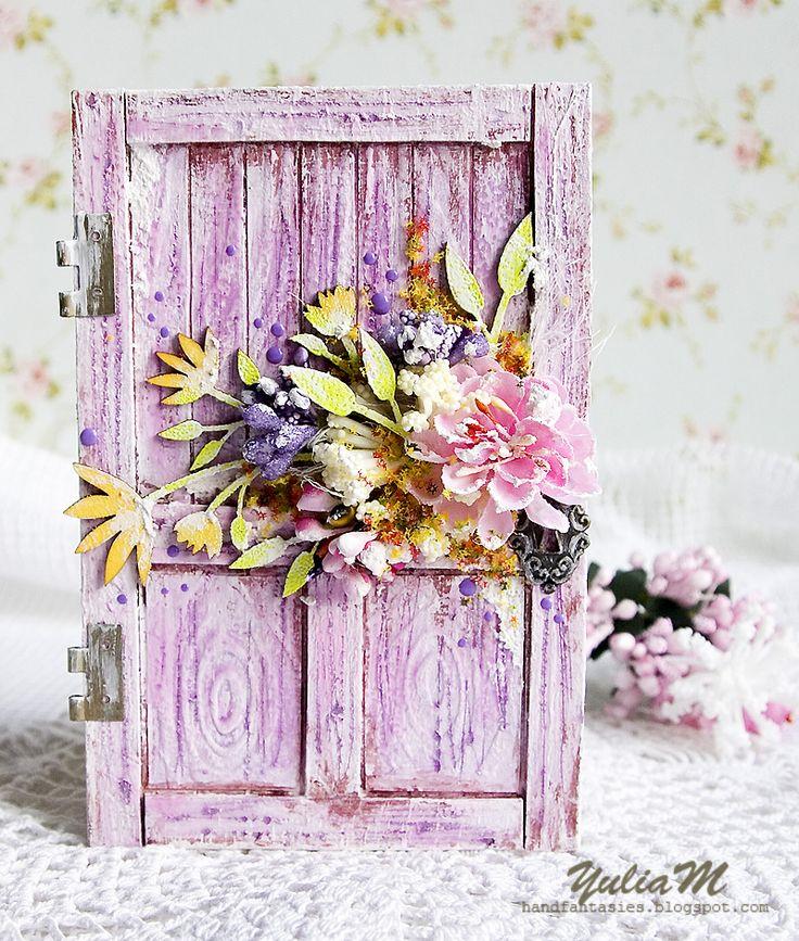 Именные оксана, двери открытка