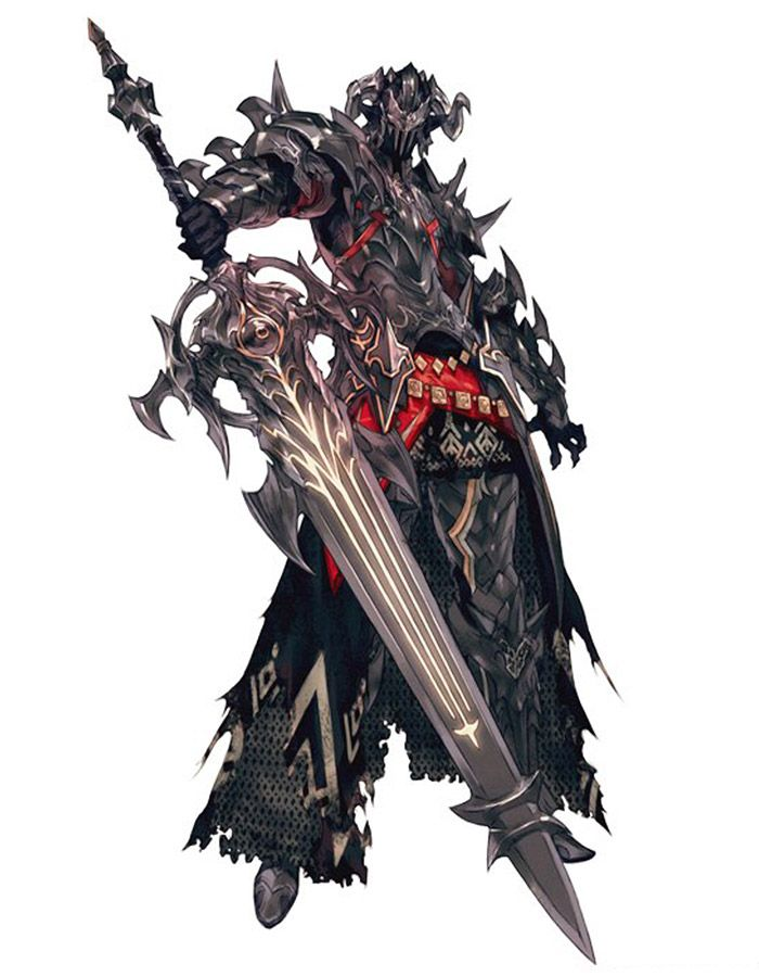Dark Knight - Characters & Art - Final Fantasy XIV: Heavensward