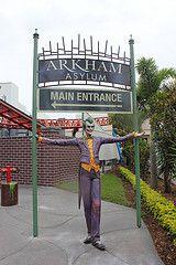 Arkham Asylum Entrance