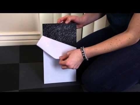 Black & White Self Adhesive Vinyl Tile - Low Cost Flooring