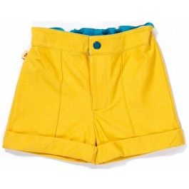 Gele 'Crister Shorts' - Albababy
