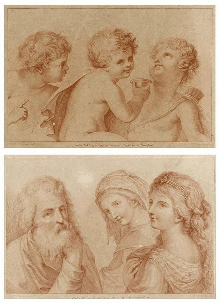 FRANCESCO BARTOLOZZI (1727-1815), CHILDREN AND FIGURES
