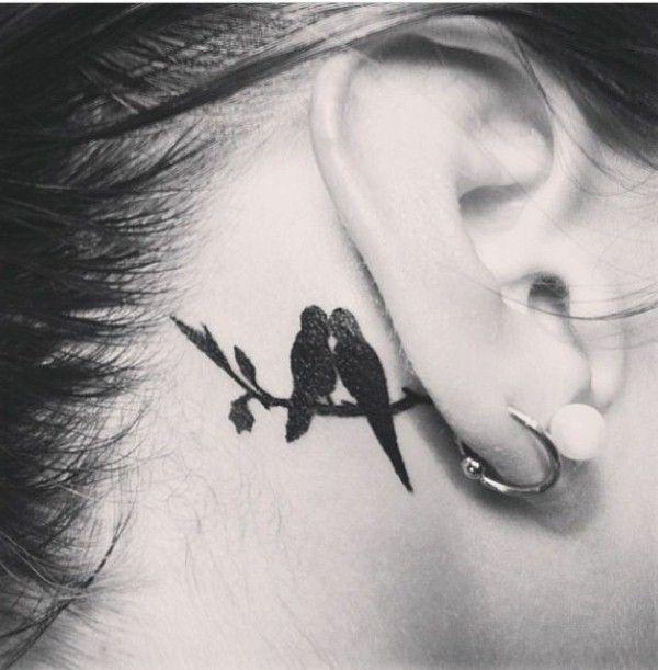 Kuvahaun tulos haulle tattoo behind ear