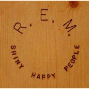 """R.E.M est actuellement diffusé sur PlageFM avec son titre """"SHINY HAPPY PEOPLE"""""""