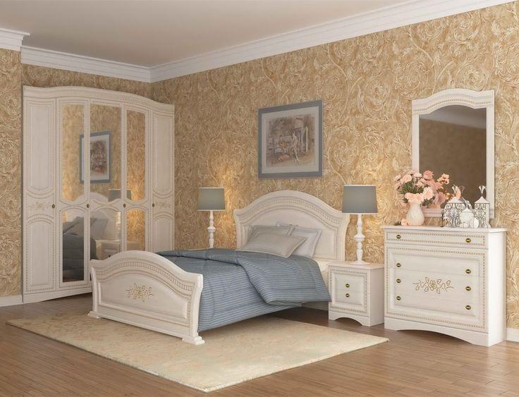 Спальня Венера Люкс шкаф5Д