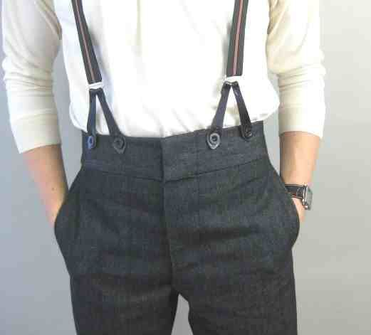 Mens braces/Suspenders are a great look if you buy the right ones the button ones are the ones to aim for