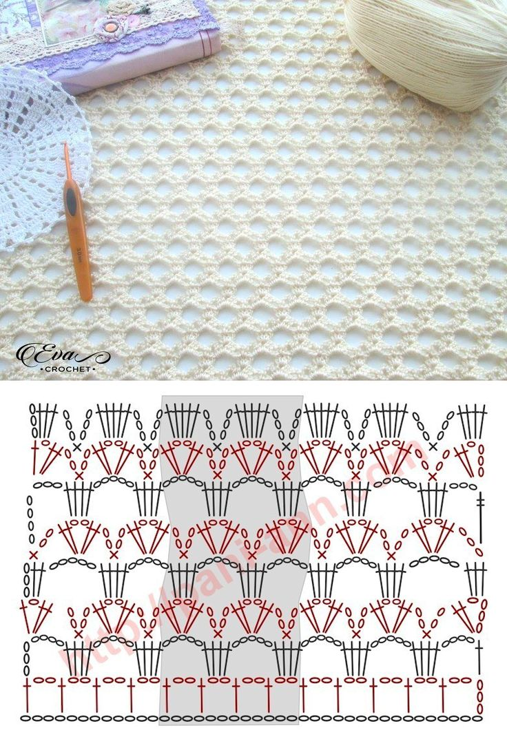 Crochet Lacy Stitch