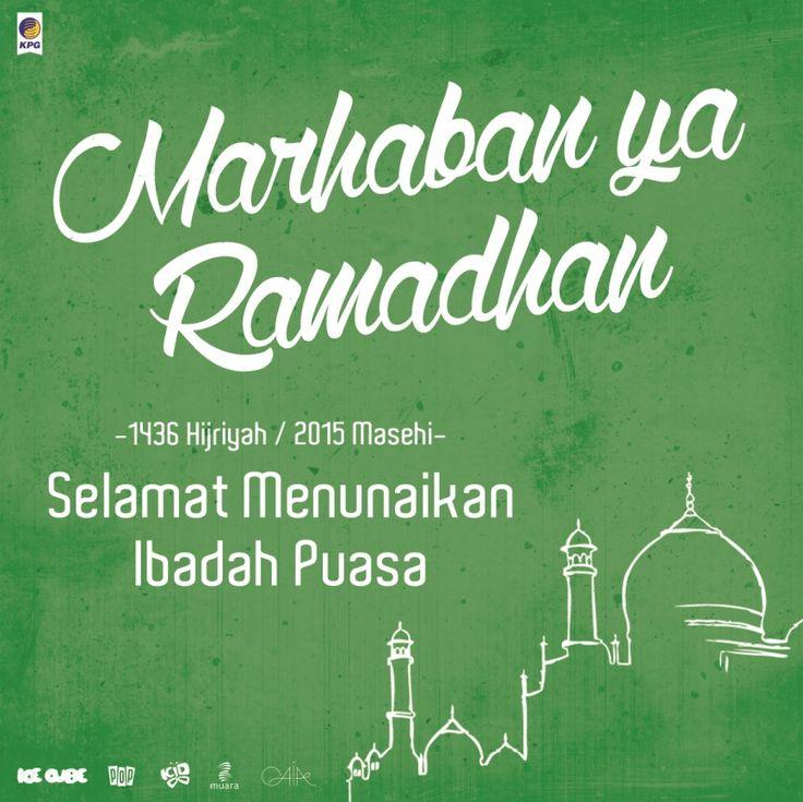 Marhaban Ya Ramadhan. Happy Fasting 2015!
