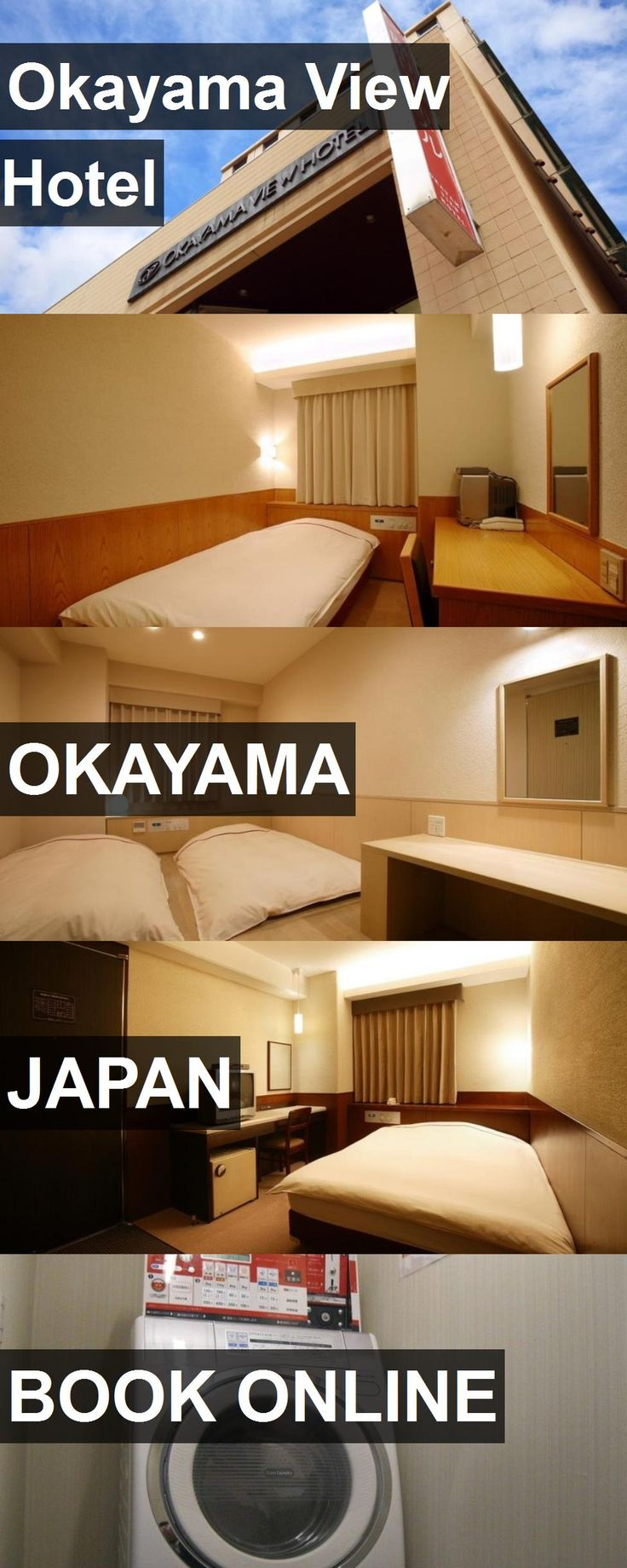 Hotel Okayama View Hotel in Okayama, Japan. For more information, photos, reviews and best prices please follow the link. #Japan #Okayama #OkayamaViewHotel #hotel #travel #vacation