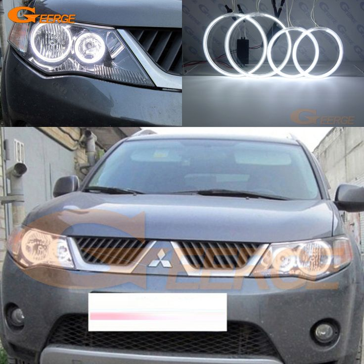 Find More Car Light Assembly Information about For Mitsubishi Outlander 2007 2008 2009 HALOGEN HEADLIGHT Excellent Ultrabright illumination CCFL Angel Eyes kit Halo Ring,High Quality ring ring,China ring for Suppliers, Cheap ring kit from Geerge-Tech on Aliexpress.com