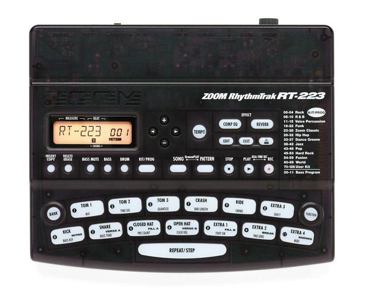 Zoom RT223 Rhythm Trak Drum Machines