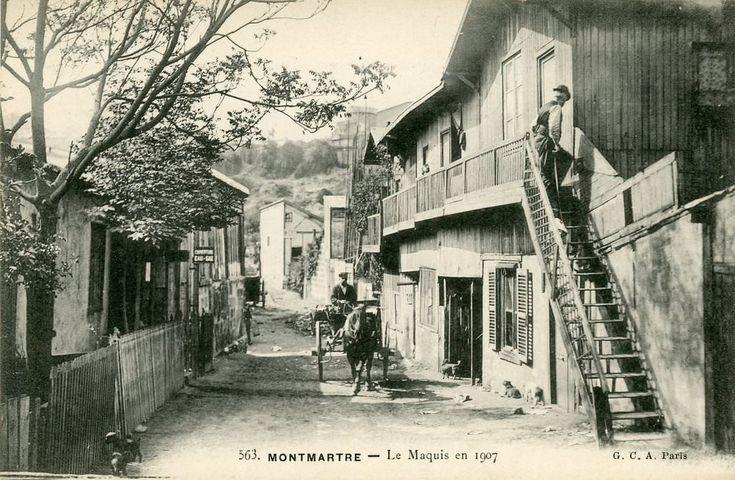 Montmartre, Le Maquis, 1907