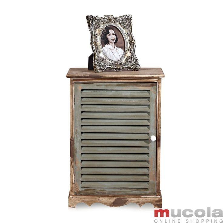 Badezimmerschrank Grün Aus Holz Kommode Anrichte Wandschrank Schrank  Sideboard In Möbel U0026 Wohnen, Möbel,