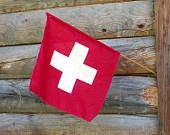 Vintage Swiss Flag