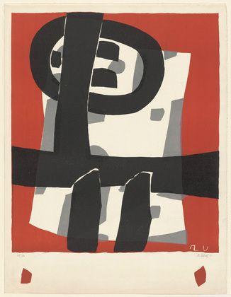 Raoul Ubac. Composition. 1950