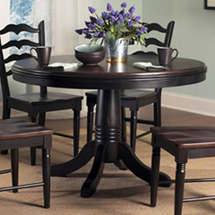 Nebraska Furniture Mart Powell Round Dining Table With