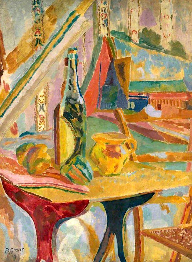 Still Life, Lime Juice Duncan Grant - 1915